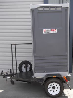 Portable Toilet   Trailer Mounted