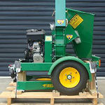 C100 Wood Chipper Side View Palletised